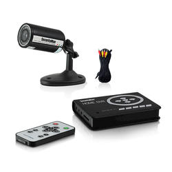 Outdoor Wired Camera System Kit with SD DVR