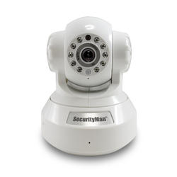 DIY Wireless/Wired IP Camera with H.264, SD Recorder, Night Vision, PTZ, and 2-Way Audio