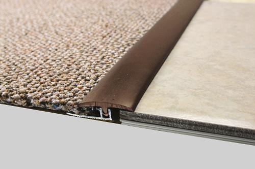 Md Building Products Vinyl Divider Transition With Metal