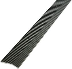 """MD Building Products Pewter Carpet Trim 1-3/8"""" x 36""""Fluted"""
