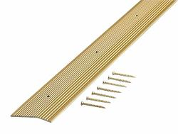 "MD Building Products Satin Brass Carpet Trim 2"" x 72"" Fluted"
