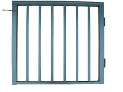 "Contractor Handrail 36"" x 36"" Aluminum Residential Gate"