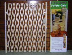 Fold Away Safety Gate