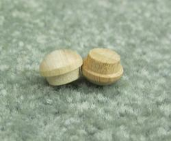 "3/4"" Poplar Button - Pack of 500"