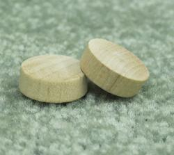 "1"" Oak Flat Head Plug - Pack of 4,000"