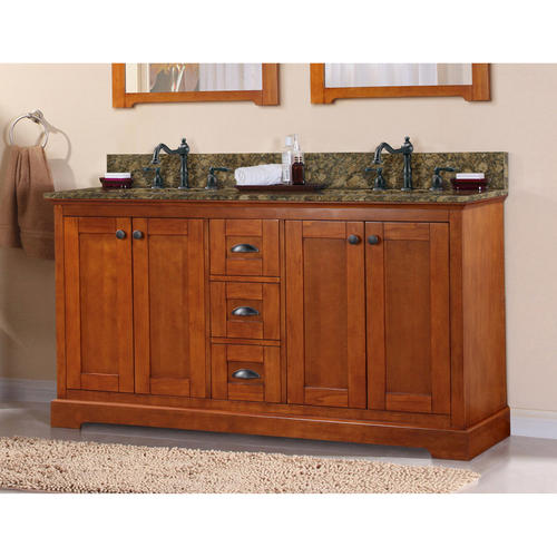 "Magick Woods 60"" Wallace Collection Vanity Base At Menards®"