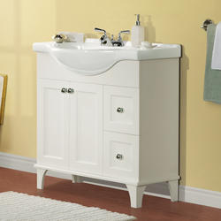 "Magick Woods 34"" Concord Collection Vanity Ensemble"
