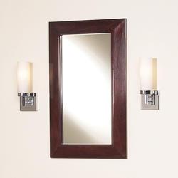 "Magick Woods 18"" Sonata Collection Mirror"