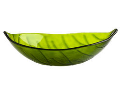 "Magick Woods 22-1/4"" Green Leaf  Vessel Sink"