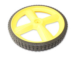 "Brute® 12"" x 2"" Yellow Lawnmower Rear Wheel"