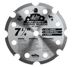 """Malco 7-1/4"""" Fiber Cement Circular Saw Blade"""
