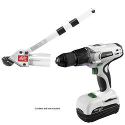 TurboShear™ Heavy-Duty Steel Cutter Drill Attachment