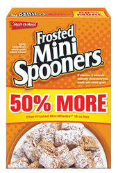 Malt-O-Meal Frosted Mini Spooners Cereal - 27 oz.