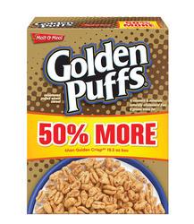 Malt-O-Meal Golden Puffs Cereal - 23 oz.