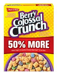 Malt-O-Meal Berry Colossal Crunch Cereal - 22.5 oz.