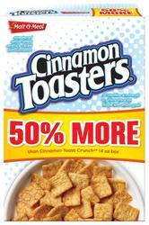 Malt-O-Meal Cinnamon Toasters Cereal - 19.2 oz.