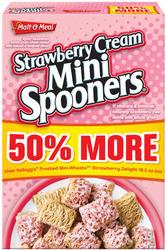 Malt-O-Meal Strawberry Cream Mini Spooners Cereal - 24.5 oz.