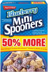 Malt-O-Meal Blueberry Mini Spooners Cereal - 24 oz.
