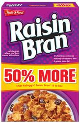 Malt-O-Meal Raisin Bran Cereal - 22.5 oz.