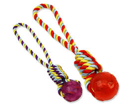 """15"""" Poly Dri Rope Twister Tug with 2.5"""" Ball"""