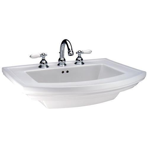 Mansfield Barrett Bathroom Sink 4 Faucet Center Basin Only At Menards