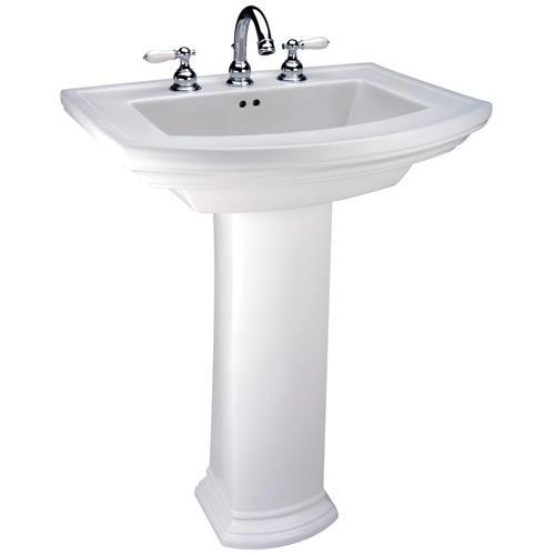 Mansfield Barrett Pedestal Bathroom Sink - 8