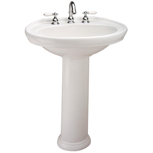 Mansfield Sinks Pedestal : Mansfield Waverly Pedestal Bathroom Sink - 4