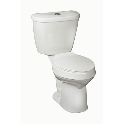 Mansfield Summit Dual Flush Round Front Two Piece Toilet