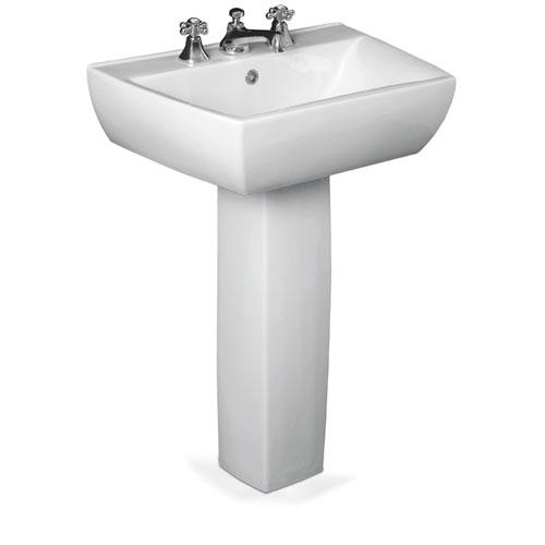 Mansfield Potenza Pedestal Bathroom Sink - 4
