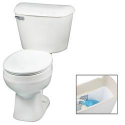 Mansfield Alto Round Front SmartHeight Two-Piece Toilet