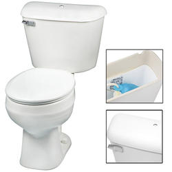 Mansfield Alto Round Front SmartHeight Two-Piece Toilet