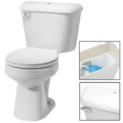 Mansfield Alto Round Front Two-Piece Toilet