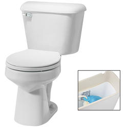 Mansfield Alto Round Front Two-Piece Toilet