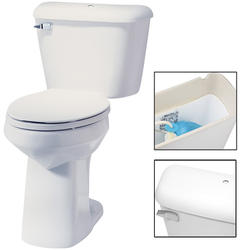 Mansfield Alto Elongated Front ADA Two-Piece Lined with C/L Toilet