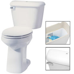 "Mansfield Alto 10"" Elongated Front ADA Two-Piece Lined Toilet"
