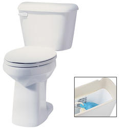 """Mansfield Alto 10"""" Elongated Front ADA Two-Piece Lined Toilet"""