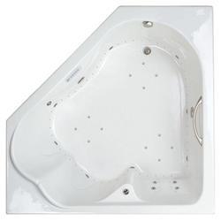 """Mansfield Castille 66"""" x 66"""" x 23.5 GentleTouch Air Bath"""