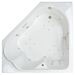 "Mansfield Castille 66"" x 66"" x 23.5 DualTherapy Air Bath"