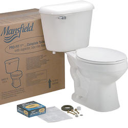 Mansfield Pro-Fit1 Round Front Complete Toilet