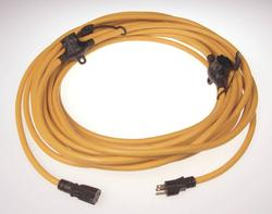 14/3, 50' Three Outlet Yellow Extension Cord