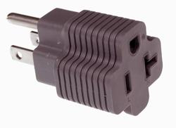 T-Blade Plug Adapter (15 Amp to 20 Amp)