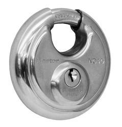 "2-3/4"" Stainless Steel Discus Shield Padlock"
