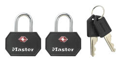 "1-1/4"" TSA Accepted Luggage Padlock (2-Pack)"