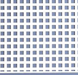 4' x 8' Square Cut Plastic Lattice Panels