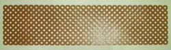 2' x 8' Privacy Plastic Lattice Panels