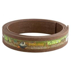 "Master Mark Plastics Rhino Edge Lawn Edging 3 1/2"" x 16' - Chestnut"