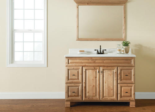 Tobago series 48 w x 21 d vanity base at menards - Menards bathroom vanities 48 inches ...