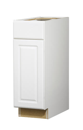 "Value Choice 12"" tario White Standard 1 Door Drawer Base"