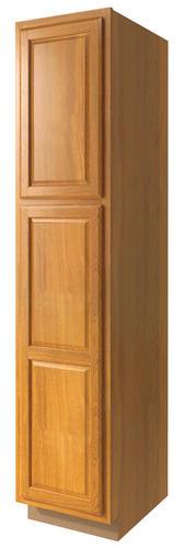 Value Choice 24 Huron Oak Standard 2 Door Tall Utility Cabinet At Menards