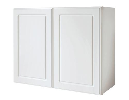 Value choice 30 x 24 ontario white over an appliance wall cabinet at menards - Menards white kitchen cabinets ...